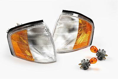 Mercedes C-Klasse W202 93-01 Orange Vorne Blinker Blinker Paar Set US Look