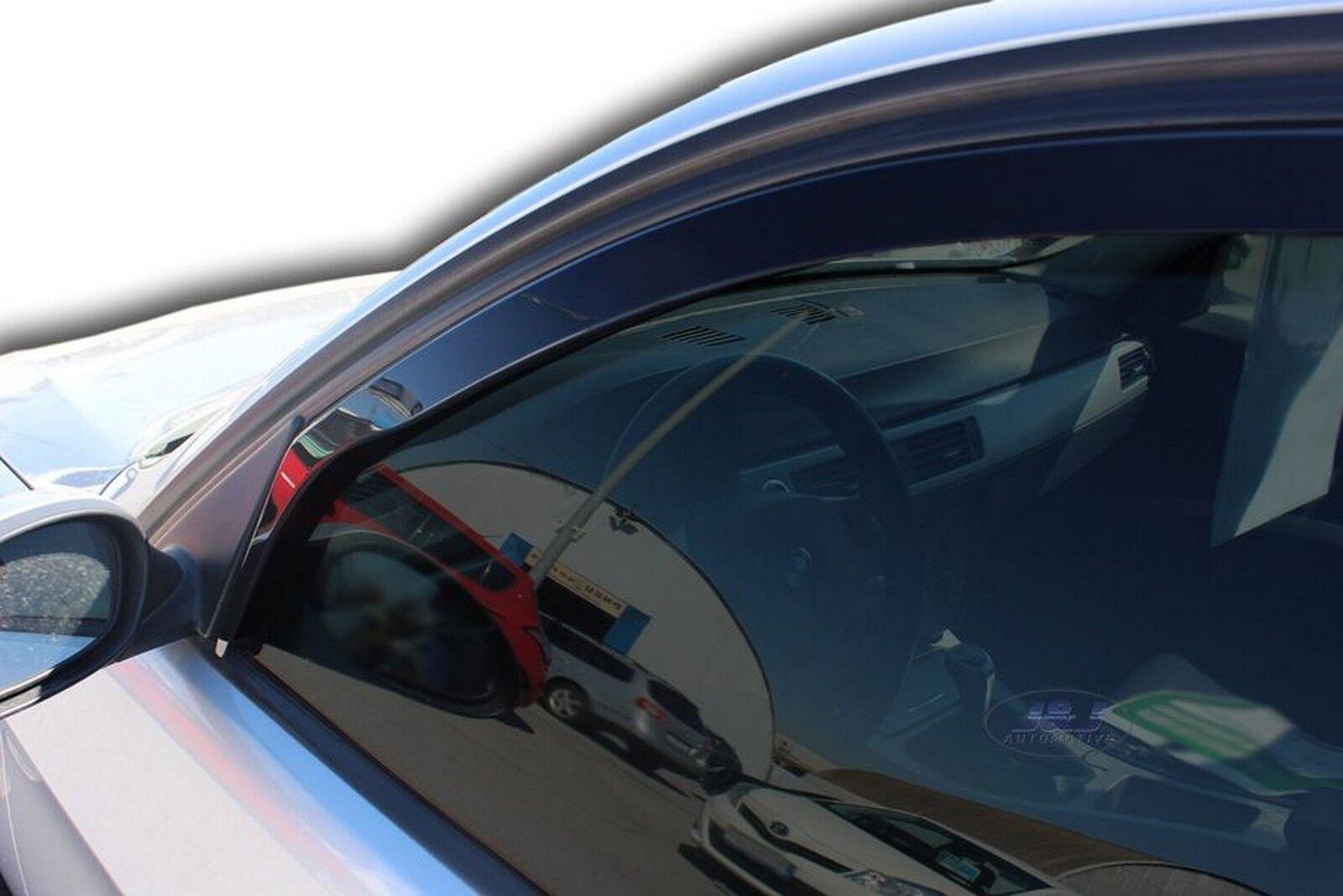 Tinted Easy to Fit Pair of Front Wind Deflectors Heko Heko WD15166-8617