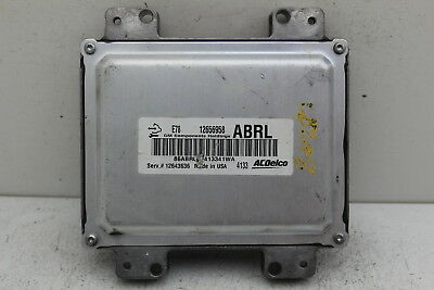 11-16 Chevrolet Cruze 12643636 Computer Brain Engine Control ECU ECM EBX Module