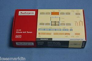 Auhagen-42-648-Fences-with-Gates-Un-build-KIT-HO