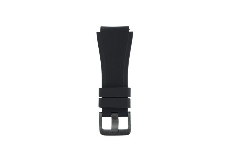 Genuine+Samsung+Gear+S3+Frontier+Black+Buckle+%2F+Clasp+Strap+-+GH98-40599A