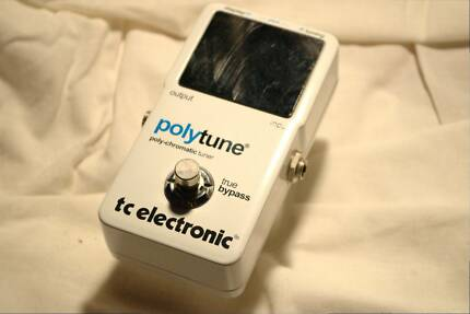 TC Electronic PolyTune Guitar Tuner Effect Pedal Forestville Warringah Area Preview