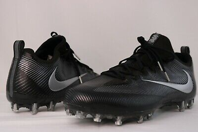 0c001eb08 Nike Vapor Untouchable Pro Football Cleats - Black Grey - 833385-002 -  Size  16