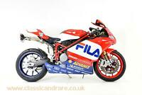 Ducati 999R Fila with low miles No 41/200