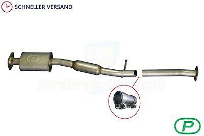 Mittelschalldämpfer passend für Subaru Impreza 2.0 2000-08 Mitteltopf Auspuff