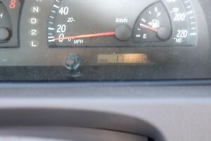 Toyota Camry 2002 XLE