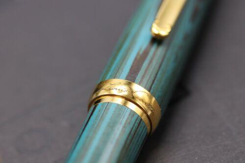 Cartier Louis Cartier Dandy Limited Edition Green Ebonite LE Fountain Pen 8