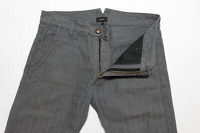 Cloak Alexandre Plokhov Mens Grey Herringbone Jeans Pants Size 32 x 32