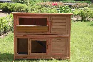 Large two story Rabbit & guinea pig hutch with Ramp(WP-R060) Maddington Gosnells Area Preview