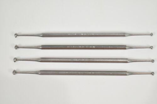 Dental Burnishers SCHEIN # 28/29 Standard Handle Double End SET of 4 Instruments