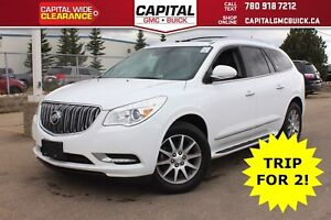 2017 Buick Enclave LEATHER AWD | HEATED SEATS & STEERING | REMOT