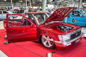 1989 Toyota Hilux V8 Airbagged Minitruck Showcar Ringwood East Maroondah Area Preview
