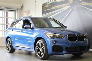 2018 BMW X1 xDrive28i GROUPE M SPORT, TOIT PANORAMIQUE