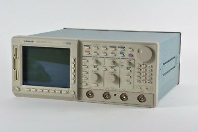 As Is Tektronix Tds 520d Two Channel Digtal Phosphor Oscilloscope