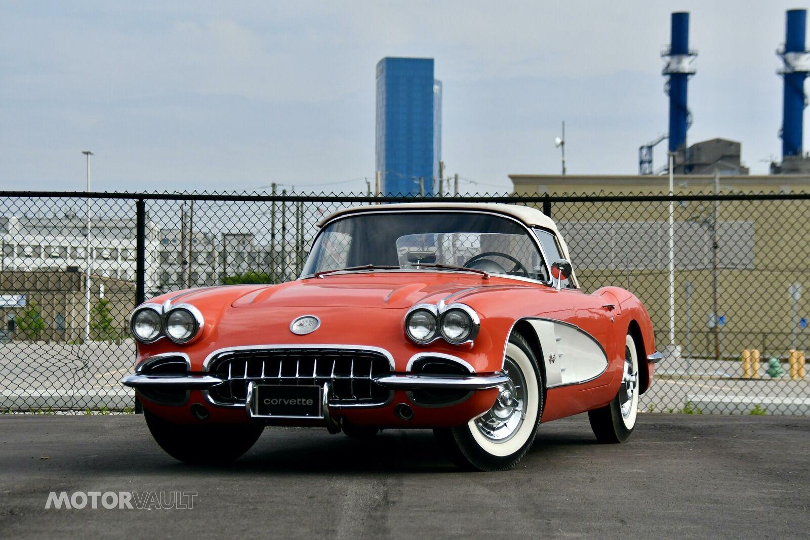 1958 Red Chevrolet Corvette   | C1 Corvette Photo 1