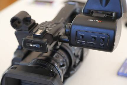 Sony PMW-EX3 Video Camera Forestville Warringah Area Preview