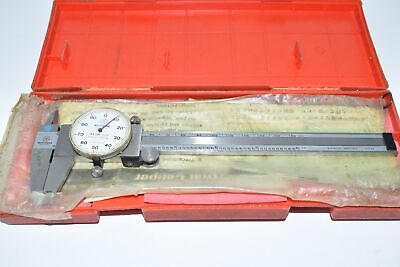 Mitutoyo 505-637-50 6 Or 150mm Dial Caliper With Case