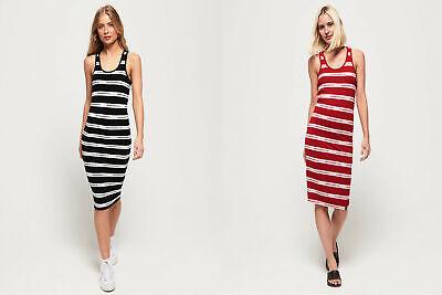 Superdry Womens Mila Stripe Midi Dress