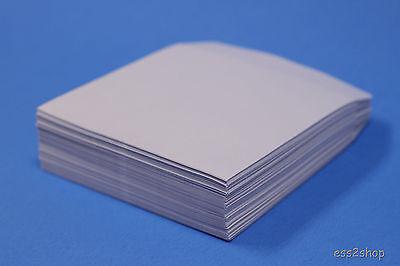 1000 Generic Paper CD DVD R CDR Sleeve No Window Flap Envelope New