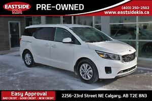 2018 Kia Sedona LX + PWR DOORS HEATED STEERING/SEATS CAMERA PUSH