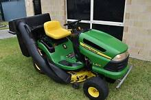 John Deere L115 Ride On Mower and Catcher Warner Pine Rivers Area Preview