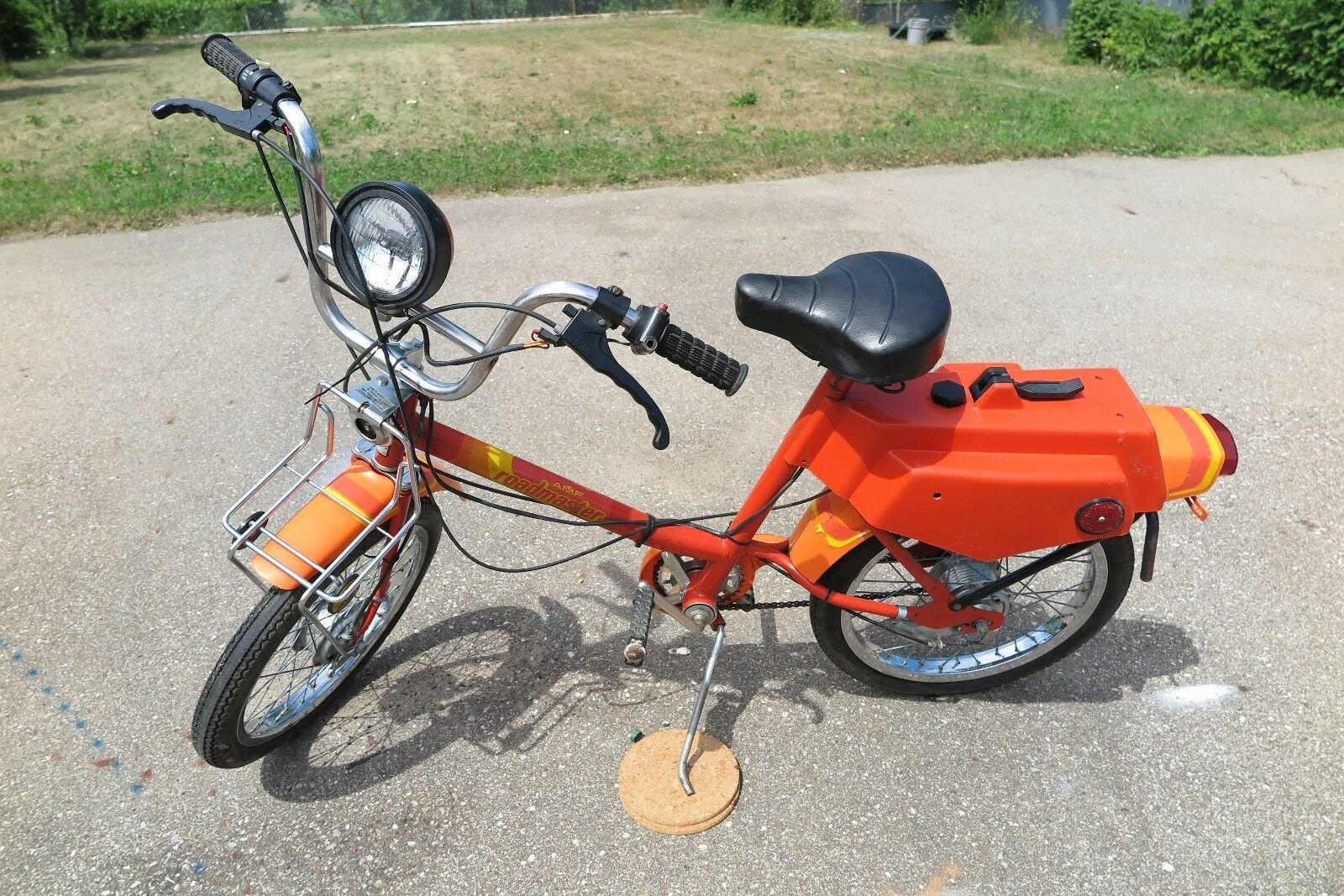 Vintage (~1977-1979) AMF Roadmaster moped, all original, NO RESERVE, Michigan