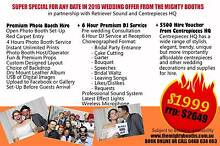 WEDDING OFFER - PHOTO BOOTH + DJ + CENTREPIECES Maddington Gosnells Area Preview