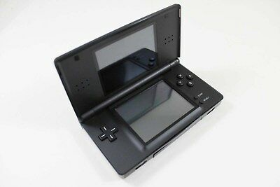Nintendo Ds Lite Onyx System   Refurbished   Works Great