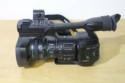 Sony PMX-EX1 video camera and accessories Aspley Brisbane North East Preview