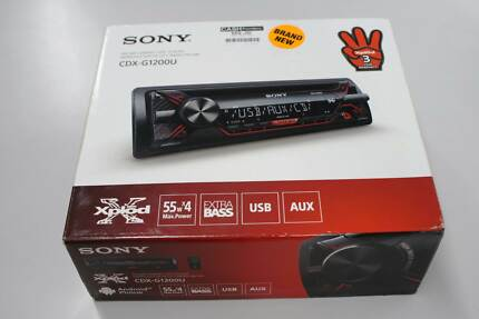 Sony Head Unit as new in box Nerang Gold Coast West Preview