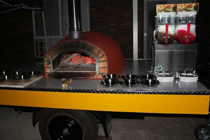 Woodfired Pizza Oven Trailer Hire- DIY Party Hire Brisbane City Brisbane North West Preview