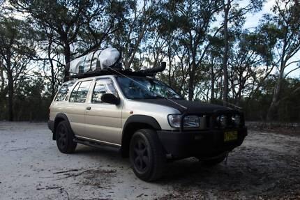 NISSAN PATHFINDER 4WD CAMPER CUSTOM CONVERSION -QUICK SALE