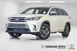 2018 Toyota Highlander Hybrid Limited / 15000 kms / Bluetooth /