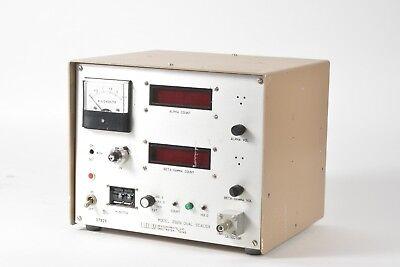 Ludlum Measurements 2929 Alphabeta Dual Channel Radiation Scaler