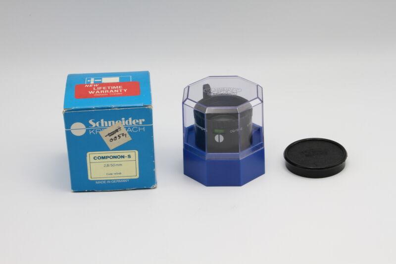 Used Schneider-Kreuznach Componon-S 50mm F2.8 Enlarging Lens (#14225596)