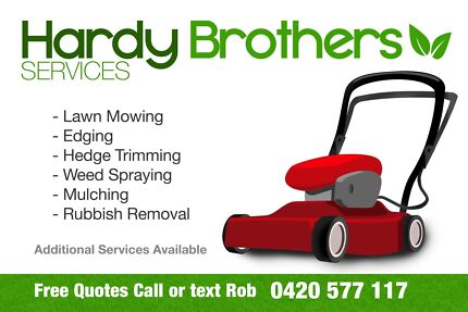Hardy Brothers Mowing Services