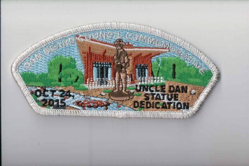 Dan Beard Council SA-64 2015 Uncle Dan Statue Dedication Commemorative CSP