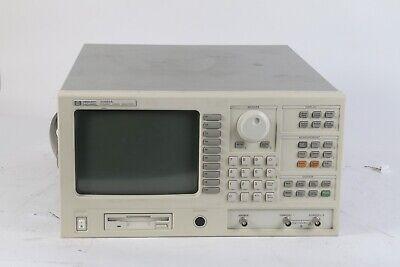 Hp Hewlett Packard Agilent 35665a Dynamic Signal Analyzer