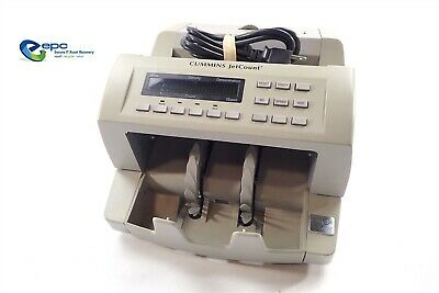 Cummins Allison JetCount 4022 Currency Counter 402-9902-00 Counts New $100 Bill