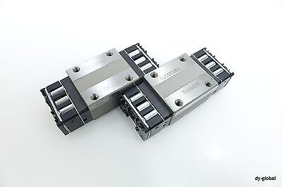 Hsr15rqzuu Lot Of 2 Used Thk Linear Bearing Lm Guide Block Cartridge Maintenance