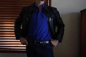 New Medium Leather Jacket Must Go Goondiwindi Goondiwindi Area Preview