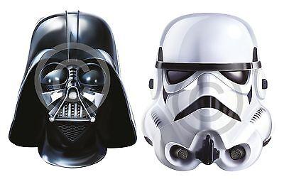 Darth Vader oder Sturmtruppler # Karte Gesichtsmaske Kostüm Buchwoche Zubehör