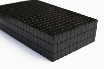 25 50 100 250 Pcs 8mm X 5mm X 5mm Epoxy Coated Bar Magnets N52 Neodymium