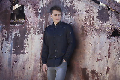 Karlowsky Heren Kochhemd Jeans New Identity Größe 46 bis 64 Profi - Qualität (Koch-hemd)