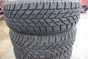4 Goodyear  ultra grips 185-60-15 winter tires