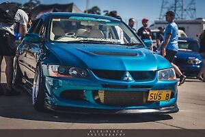Evo 8 VIII MR show car - SUS 8 Canberra City North Canberra Preview