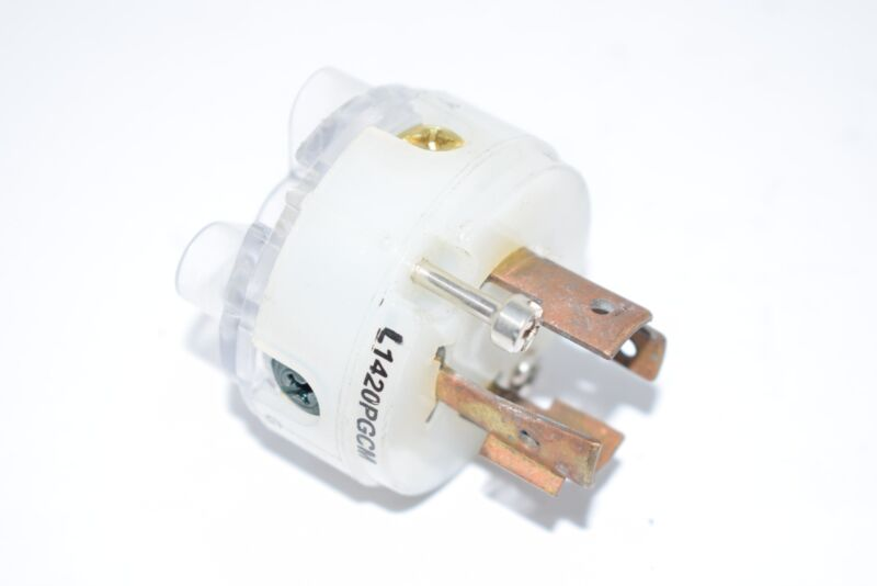L1420PGCM 20A Ground Monitoring Plug 3P 4W 125/250VAC