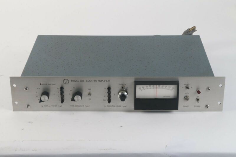 George Associates Model 104 Lock-In Amplifier- Fair Condition