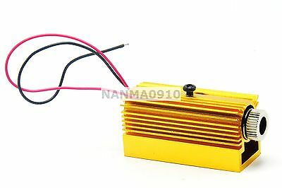 Focusable 50mw 808nm Ir Infrared Laser Diode Dot Module W Driver Heatsink