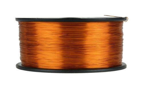 TEMCo Magnet Wire 27 AWG Gauge Enameled Copper 200C 1.5lb 2355ft Coil Winding